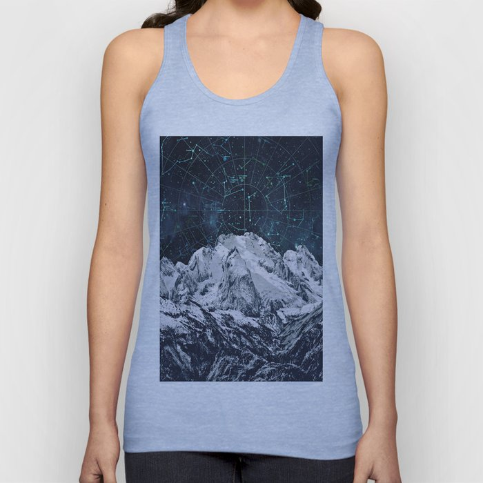 Constellations over the Mountain Unisex Tank Top