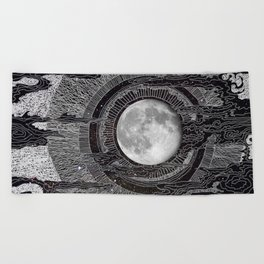 Moon Glow Beach Towel