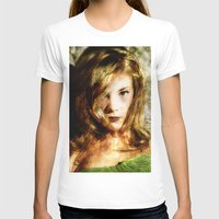 thrones T-shirts featuring Portrait of Natalie Dormer (tutors / game of thrones) by André Joseph Martin