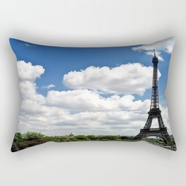 Eiffel Tower in Beautiful Morning Rectangular Pillow