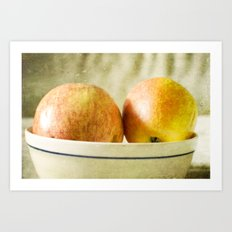 Apples Art Print