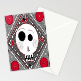 All stitched up Stationery Cards