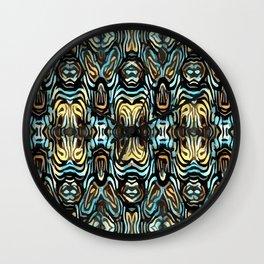 Ember Shamans Wall Clock