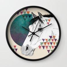 My pony is'nt an unicorn Wall Clock