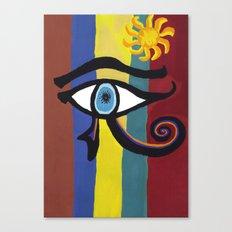 The Eye of the Sun Canvas Print