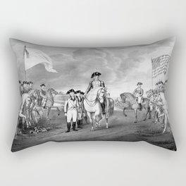 Surrender Of Lord Cornwallis At Yorktown Rectangular Pillow
