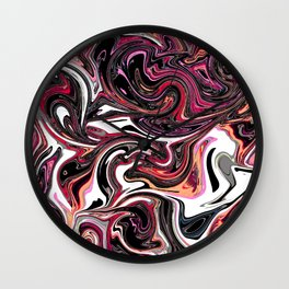 Extreme Liquid 005 Wall Clock