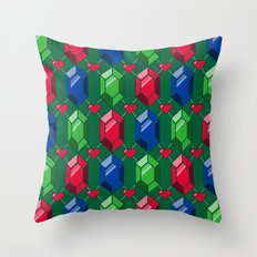 The Legend of Argyle Throw Pillow