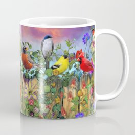 Birds and Blooms Coffee Mug