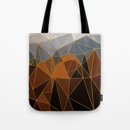Autumn abstract landscape 4 Tote Bag