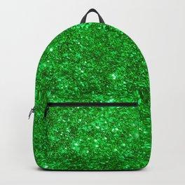 Glitter Green Backpack