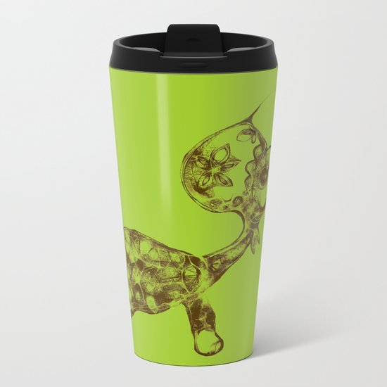cool sketch 198 Metal Travel Mug
