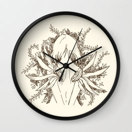She, The ultimate Weapon Wall Clock