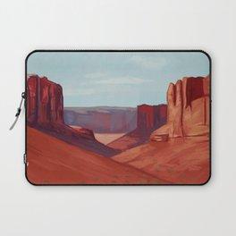 Red Landscape Laptop Sleeve