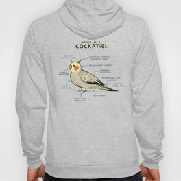 Anatomy of a Cockatiel Hoody