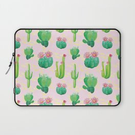 Cacti Pattern Laptop Sleeve
