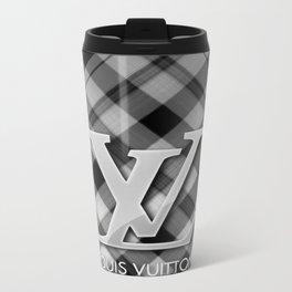 LouisVuitton Patern Logo Travel Mug