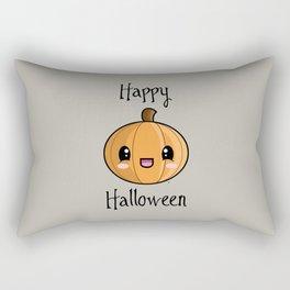 Happy Halloween Pumpkin Kawaii :) Rectangular Pillow