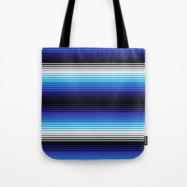 Deconstructed Serape in Blue Tote Bag