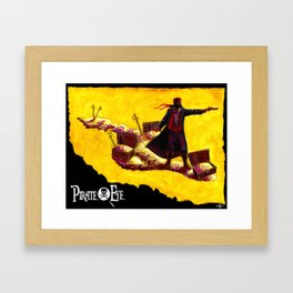 Pirate Eye: Isle of Gold Framed Art Print