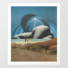 Heavenly Bodies Art Print
