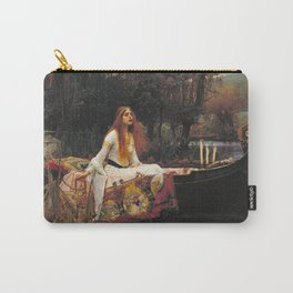 John William Waterhouse - The Lady Of Shalott Carry-All Pouch