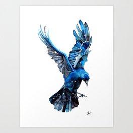 Azure Jack Art Print