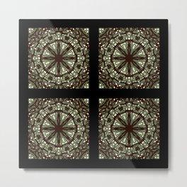 Black wheels Metal Print