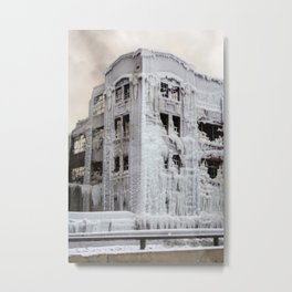 The Ice Castle Metal Print