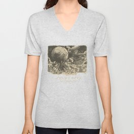 The Airship Ophelia Unisex V-Neck