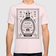 Legend of Zelda Red Chu Potion Advertisement Mens Fitted Tee LARGE Light Pink