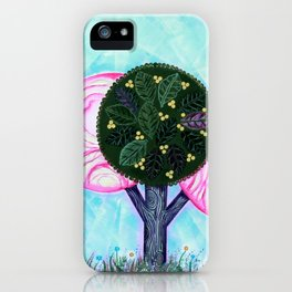 Pink grove iPhone Case