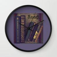 read Wall Clocks featuring Read by kstar