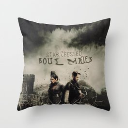Outlaw Queen / Star Crossed Throw Pillow