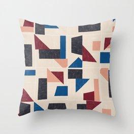 Tangram Wall Tiles 03 #society6 #pattern Throw Pillow