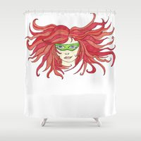 sister Shower Curtains featuring Sister by aHattfull