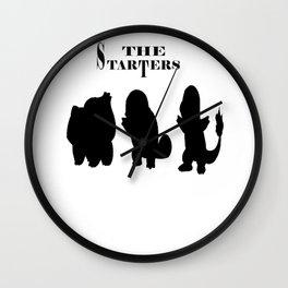 The Starters Funny Gamer [Poke mon] Wall Clock