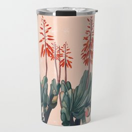 A blooming Plant Travel Mug