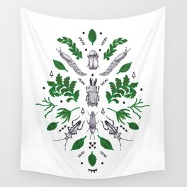Orienteering insects Wall Tapestry