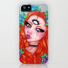 All Seeing Goddess iPhone Case