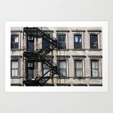 Around Soho, in NYC Art Print