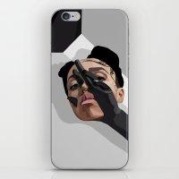 fka twigs iPhone & iPod Skins featuring FKA Twigs: M3LL155X by akin