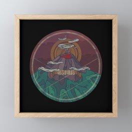 Vesuvius Framed Mini Art Print