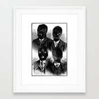 bdsm Framed Art Prints featuring BDSM  by DIVIDUS DESIGN STUDIO