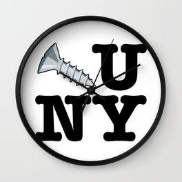 Screw You New York Wall Clock