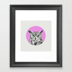 Oculos Framed Art Print