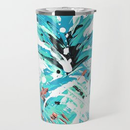 Teal Twist pineapple Travel Mug