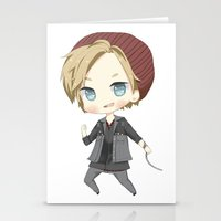 infamous Stationery Cards featuring Pewdiepie Infamous: Second Son by PumpkinElite