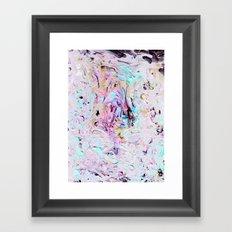 Finger Paint Framed Art Print