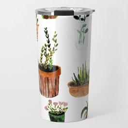 houseplants Travel Mug